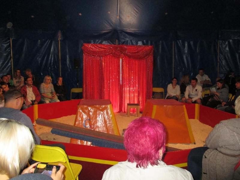 Kita Knirpsenhaus Zirkus Benjamin Zu Besuch
